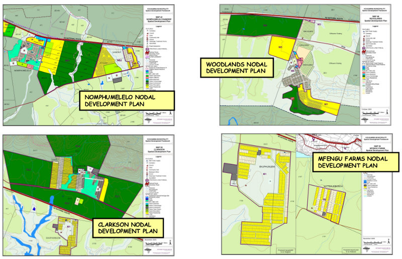 Nomphumelelo, Woodlands, Clarkson and Mfengu Farms Nodal Development Plans